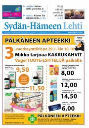 Sydän-Hämeen Lehti 27.01.2016
