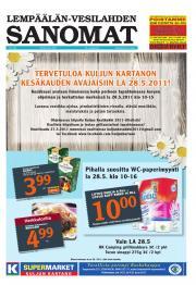 Lempäälän-Vesilahden Sanomat 26.05.2011