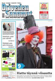 Oriveden Sanomat 24.02.2016