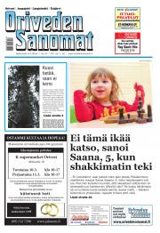 Oriveden Sanomat 09.03.2016
