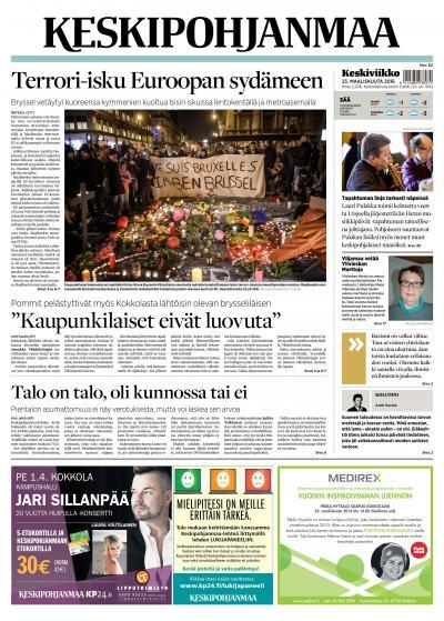 KESKIPOHJANMAA 23.03.2016 Lehtiluukku.fi