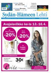 Sydän-Hämeen Lehti 13.04.2016