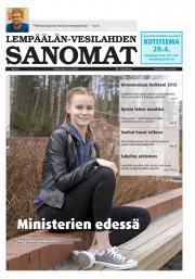 Lempäälän-Vesilahden Sanomat 13.04.2016