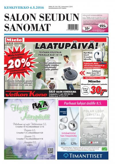 best sneakers new specials cheap prices Salon Seudun Sanomat 04.05.2016 - Lehtiluukku.fi