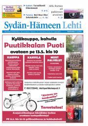 Sydän-Hämeen Lehti 11.05.2016