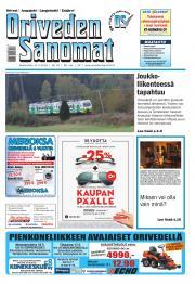 Oriveden Sanomat 11.05.2016