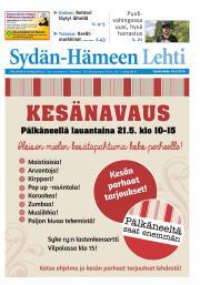 Sydän-Hämeen Lehti 18.05.2016