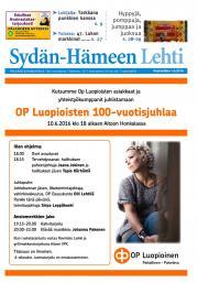 Sydän-Hämeen Lehti 01.06.2016