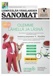 Lempäälän-Vesilahden Sanomat 01.06.2016