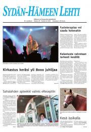 Sydän-Hämeen Lehti 15.07.2011