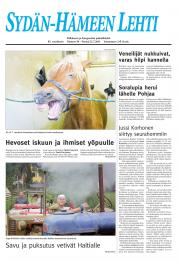 Sydän-Hämeen Lehti 22.07.2011