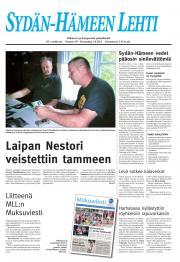 Sydän-Hämeen Lehti 03.08.2011