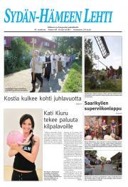 Sydän-Hämeen Lehti 05.08.2011