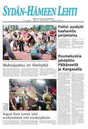 Sydän-Hämeen Lehti 12.08.2011