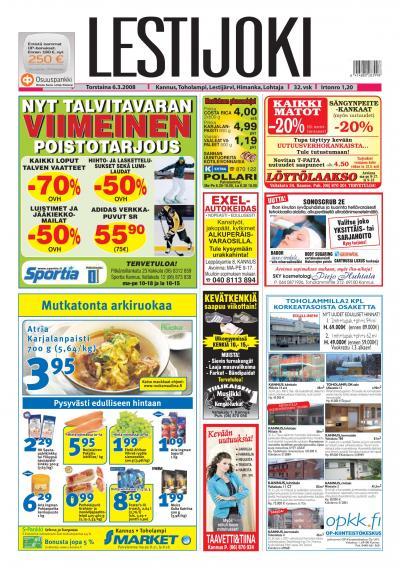 Lestijoki lehti 06.03.2008 Lehtiluukku.fi