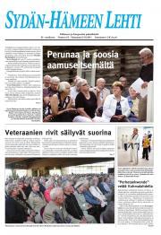 Sydän-Hämeen Lehti 16.08.2011