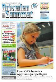 Oriveden Sanomat 17.08.2016