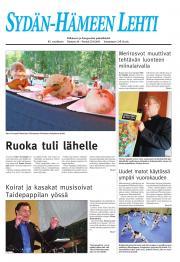 Sydän-Hämeen Lehti 26.08.2011