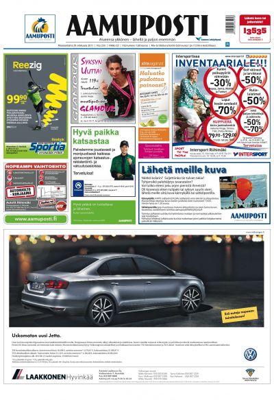Aamuposti Riihimäki 29.08.2011 Lehtiluukku.fi