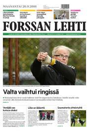 Lehtiluukku.fi - Forssan Lehti 26.09.2016 - Suomen laajin valikoima  digilehtiä netissä 44264f1059