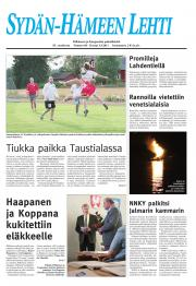 Sydän-Hämeen Lehti 02.09.2011
