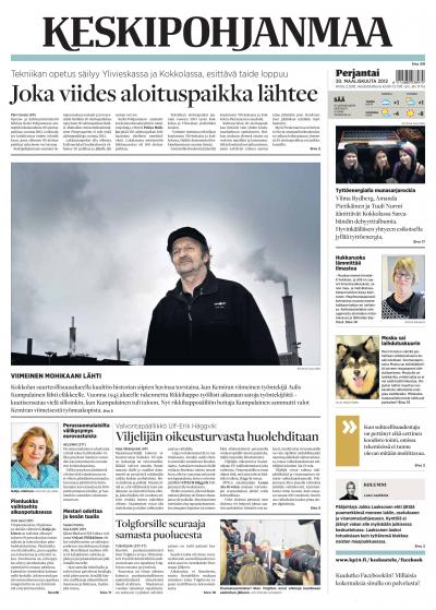 KESKIPOHJANMAA 30.03.2012 Lehtiluukku.fi