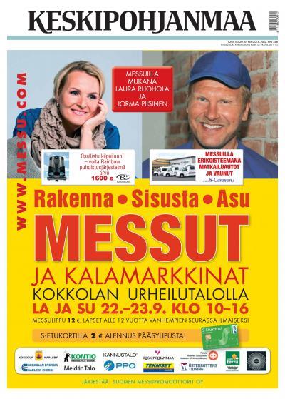 KESKIPOHJANMAA 20.09.2012 Lehtiluukku.fi