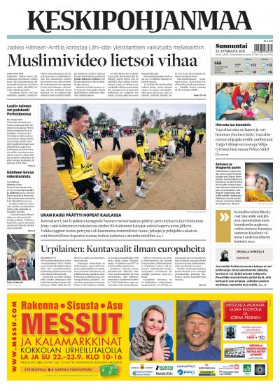KESKIPOHJANMAA 23.09.2012 Lehtiluukku.fi