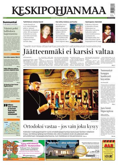 KESKIPOHJANMAA 7.2.2010 Lehtiluukku.fi