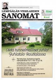 Lempäälän-Vesilahden Sanomat 02.11.2016