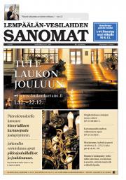 Lempäälän-Vesilahden Sanomat 30.11.2016