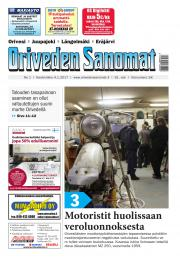 Oriveden Sanomat 04.01.2017