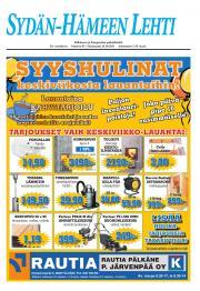 Sydän-Hämeen Lehti 25.10.2011
