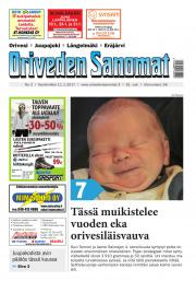 Oriveden Sanomat 11.01.2017