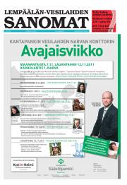 Lempäälän-Vesilahden Sanomat 03.11.2011