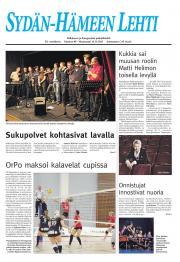 Sydän-Hämeen Lehti 15.11.2011