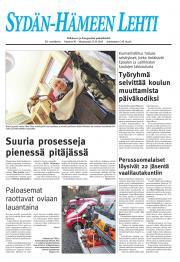 Sydän-Hämeen Lehti 22.11.2011