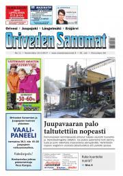 Oriveden Sanomat 15.03.2017
