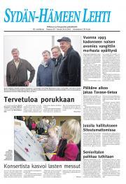 Sydän-Hämeen Lehti 25.11.2011