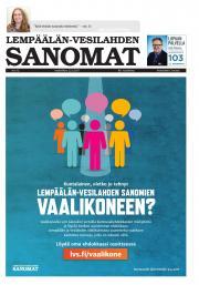 Lempäälän-Vesilahden Sanomat 22.03.2017