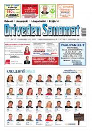 Oriveden Sanomat 22.03.2017