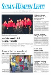 Sydän-Hämeen Lehti 02.12.2011
