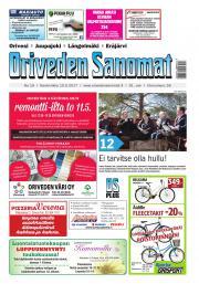Oriveden Sanomat 10.05.2017