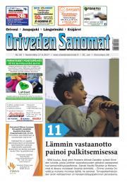 Oriveden Sanomat 17.05.2017