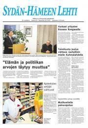 Sydän-Hämeen Lehti 20.12.2011