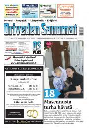 Oriveden Sanomat 31.05.2017