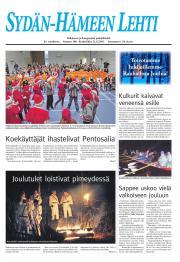 Sydän-Hämeen Lehti 22.12.2011
