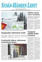 Sydän-Hämeen Lehti 11.01.2012