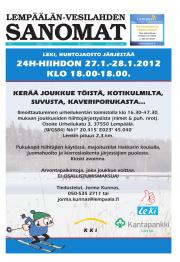 Lempäälän-Vesilahden Sanomat 12.01.2012