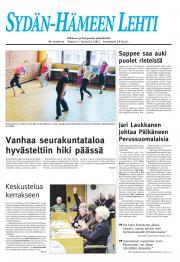 Sydän-Hämeen Lehti 13.01.2012